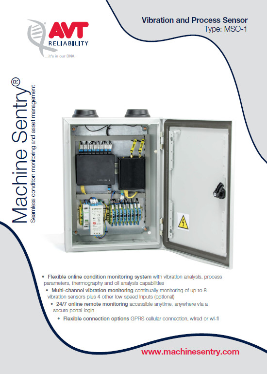 Machine Sentry – a web hosted solution providing all you need for an effective and reliable condition monitoring program.